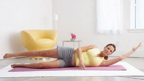 Bài tập yoga cho bà bầu tư thế quả chuối