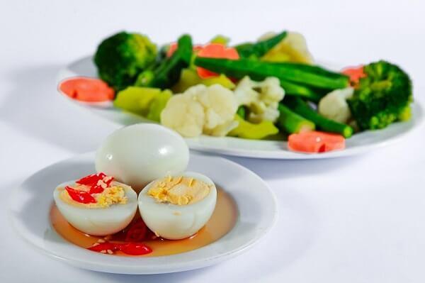 Trứng giúp giảm cân hiệu quả