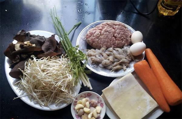Nguyên liệu để làm bánh gối Cách làm bánh gối Nam Định ngon