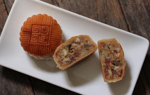 Thưởng thức món bánh trung thu nướng – cách làm bánh nướng trung thu đơn giản