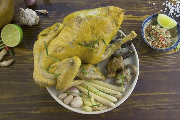5 cách làm gà hấp muối hột kiểu người Hoa, chân gà hấp hành, gà hấp tỏi nước mắm nhĩ ngon nhất