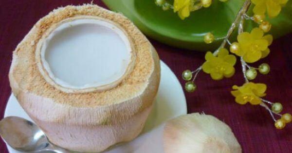 Cách làm thạch dừa, rau câu dừa nguyên trái ngon miệng tại nhà