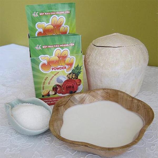 Những nguyên liệu cần có để làm thạch dừa – cách làm thạch dừa ngon