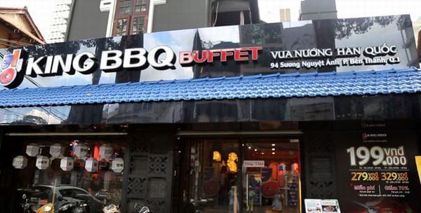 Quán King BBQ Buffet -94 Sương Nguyệt Ánh, P. Bến Thành, Quận 1.