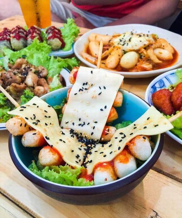 Đồ ăn tại Skinbar khá ngon và chiếm được cảm tình của nhiều người.