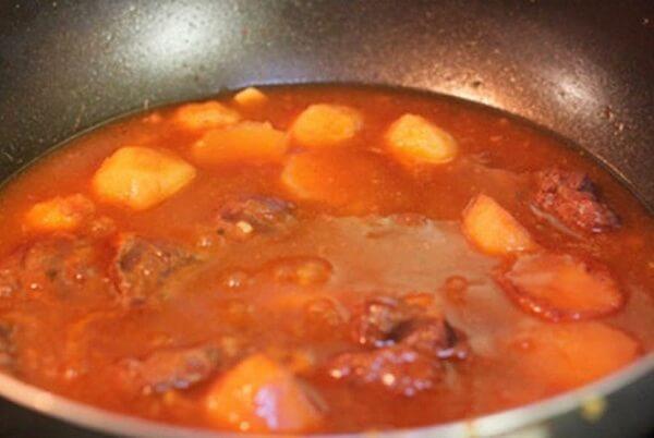 bò hầm cà rốt 4