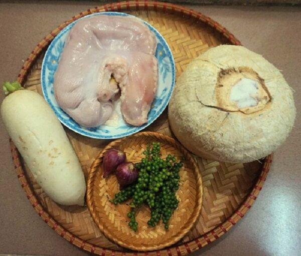 dạ dày lợn hấp tiêu 1