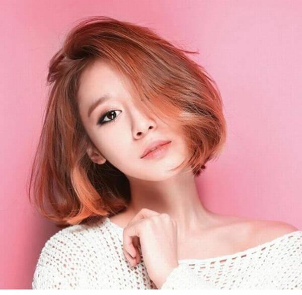 10 Kiểu tóc uốn nhẹ phần đuôi Hàn Quốc đẹp long lanh-hình số-3
