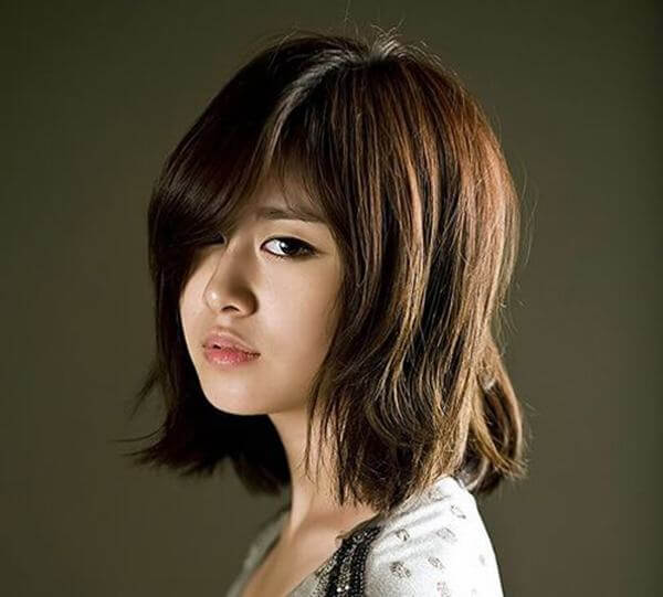 10 Kiểu tóc uốn nhẹ phần đuôi Hàn Quốc đẹp long lanh-hình số-4
