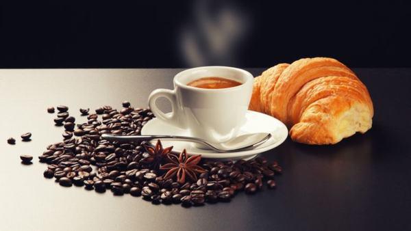 cafe cho bữa sáng