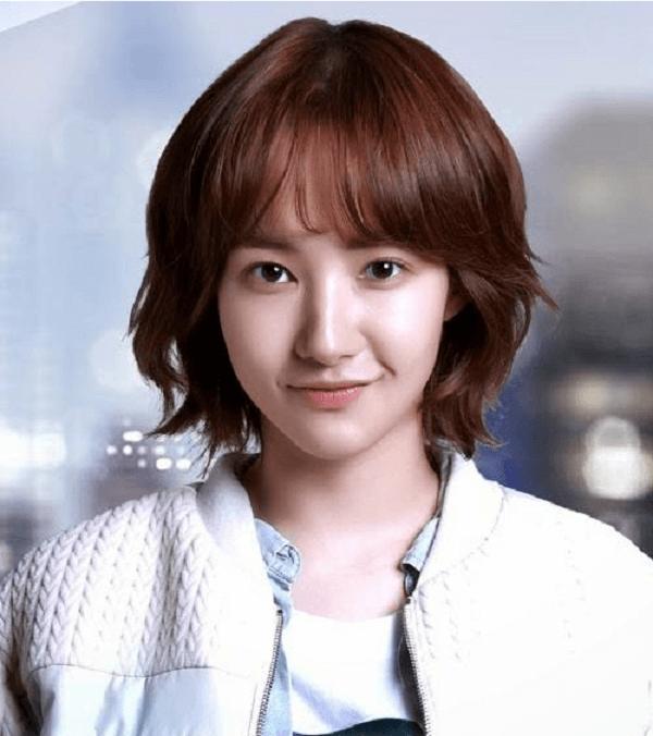 12 kiểu tóc ngắn ngang vai mái thưa Hàn Quốc đẹp nhất hiện nay-hình số-3