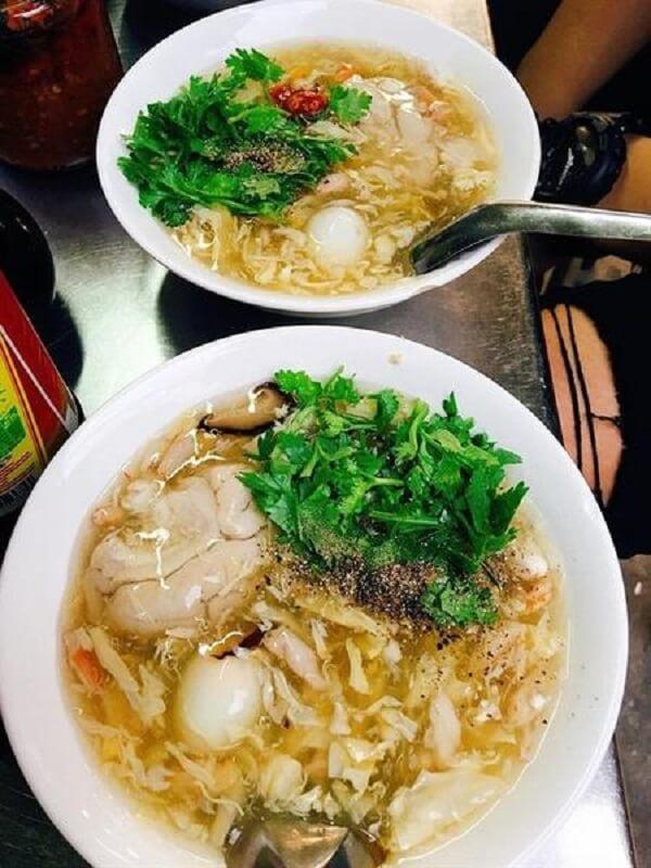 Súp cua thơm ngon khó cưỡng - Khu ẩm thực chợ hoa Hồ Thị Kỷ - Khu ăn vặt Chợ Campuchia