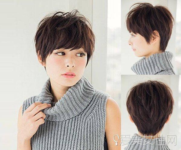 Khuôn mặt tròn cắt tóc ngắn kiểu gì, tóc ngắn cho mặt tròn to?