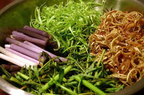 Nộm rau muốn ngó sen - Cách làm các món ăn chống ngán ngày hè, giải ngấy ngày Tết
