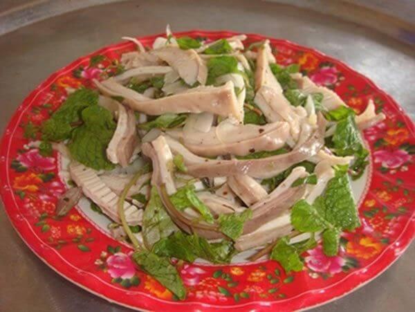 Dạ dày lợn trộn - Cách làm các món ăn chống ngán ngày hè, giải ngấy ngày Tết