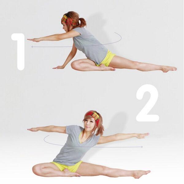 Tác động đến thắt lưng sẽ làm cơ vùng bụng hoạt động nhiều hơn và nhờ đó trở nên săn chắc hơn