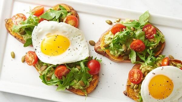 Ăn sáng với trứng