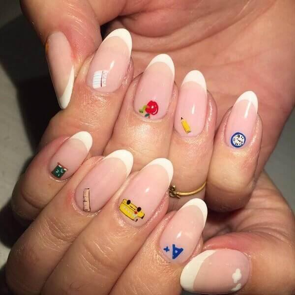 Kiểu nail hoạt hình cực dễ thương