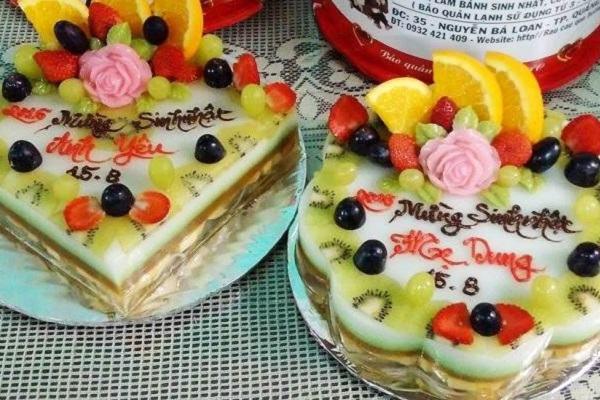 4 cách làm bánh sinh nhật rau câu bằng bột rau câu Agar, thạch rau câu 3D, rau câu nhiều màu đơn giản