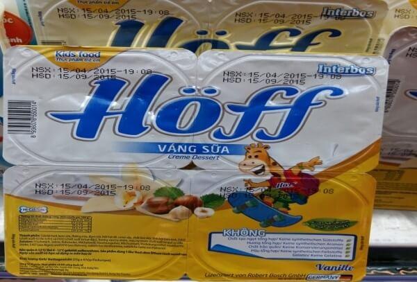Váng sữa Hoff có tốt không