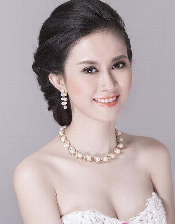 40+ kiểu tóc cô dâu đẹp đơn giản mà đẹp dễ thương trong ngày cưới, kiểu tóc Hàn Quốc cho mặt tròn 12