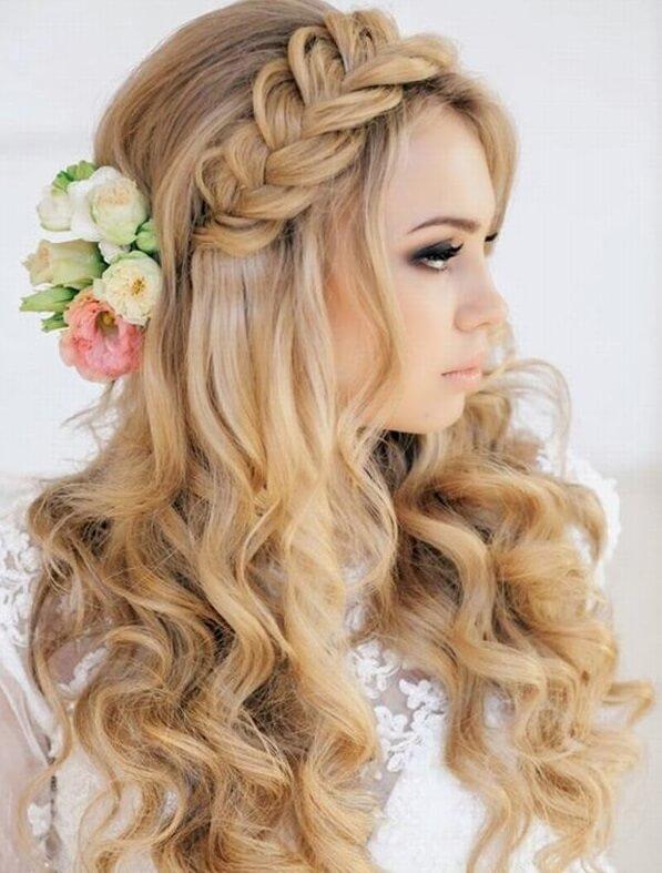 40+ kiểu tóc cô dâu đẹp đơn giản mà đẹp dễ thương trong ngày cưới, kiểu tóc Hàn Quốc cho mặt tròn 21
