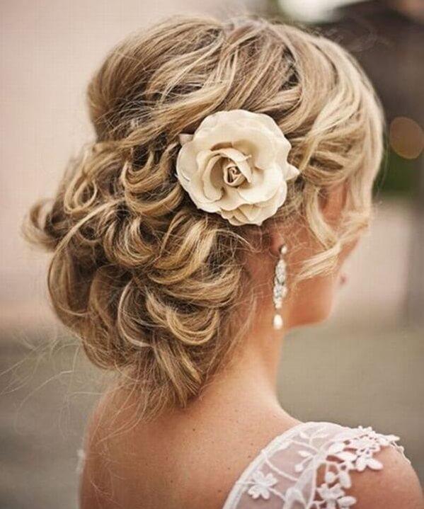 40+ kiểu tóc cô dâu đẹp đơn giản mà đẹp dễ thương trong ngày cưới, kiểu tóc Hàn Quốc cho mặt tròn 22