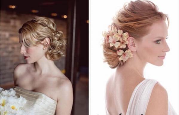 40+ kiểu tóc cô dâu đẹp đơn giản mà đẹp dễ thương trong ngày cưới, kiểu tóc Hàn Quốc cho mặt tròn 23