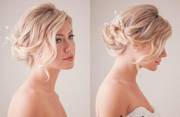 40+ kiểu tóc cô dâu đẹp đơn giản mà đẹp dễ thương trong ngày cưới, kiểu tóc Hàn Quốc cho mặt tròn 24