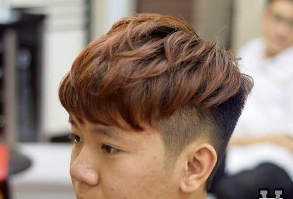 Kiểu tóc này rất phù hợp với khuôn mặt nam giới Châu Á