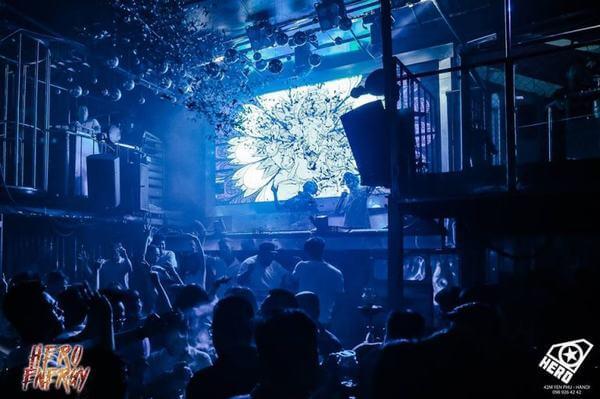Hero Bar – Yên Phụ - Các quán Bar bình dân ở Hà Nội - Địa chỉ, giá quán Bar sinh viên