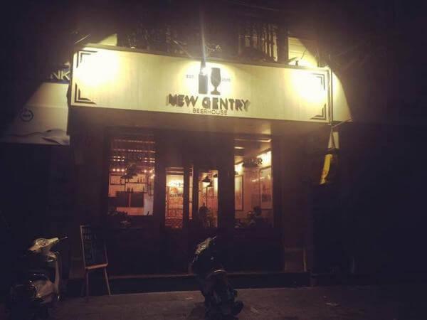 New Gentry Beerhouse – Hàng Mành - Các quán Bar bình dân ở Hà Nội - Địa chỉ, giá quán Bar sinh viên