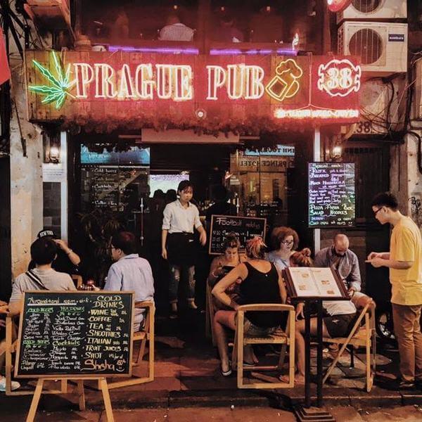 Prague Pub – Lương Ngọc Quyến -Hàng Buồm, Quận Hoàn Kiếm, T.p Hà Nội.