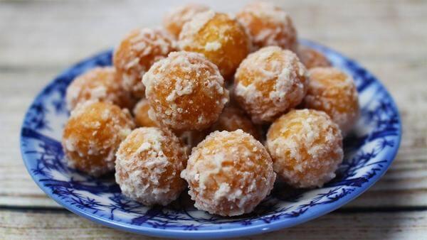 Cách làm bánh nhãn Nam Định, Hải Hậu bằng bột mì, bột nếp không bị cứng