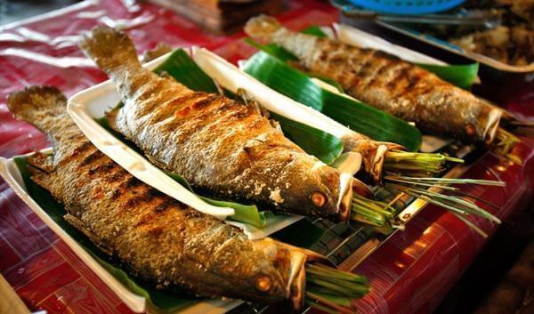 Cách làm cá rô phi nướng sả, nướng cá rô bằng giấy bạc thơm lừng
