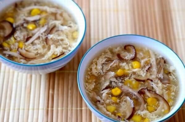 Chà bông nấm hương có thể dùng nấu các loại súp rất phù hợp.