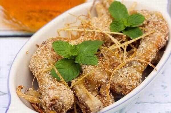 Đậm đà hương vị chân gà rang bột muối - Cách làm chân gà rang muối ớt giòn ngon đơn giản