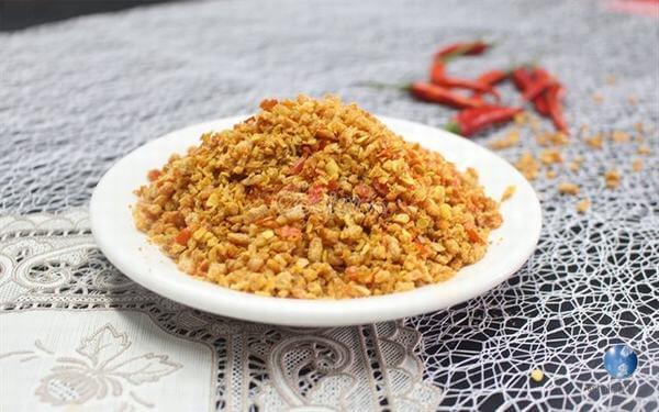 Muối tôm ăn trái cây là số 1 - 2 cách làm muối tôm Tây Ninh từ tôm tươi ăn bánh tráng bằng chảo chống dính tại nhà