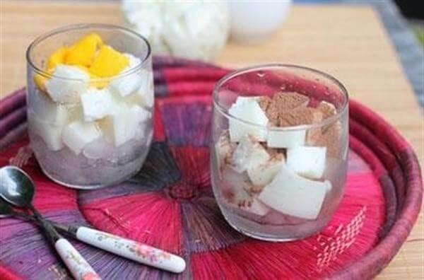 Cách làm sữa chua dẻo cho bé bằng lá, bột gelatin tại nhà