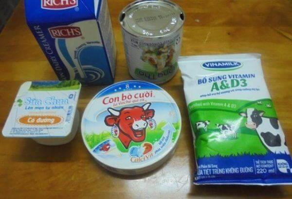 Nguyên liệu làm sữa chua phô mai dẻo mịn – cách làm sữa chua phô mai dẻo mịn đà lạt