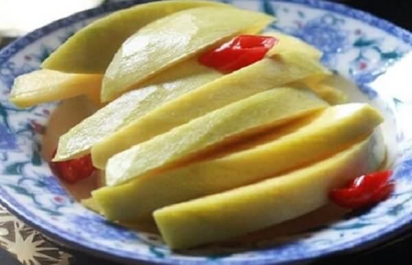Hướng dẫn cách làm xoài ngâm đường chua ngọt, xoài dầm đường ăn liền