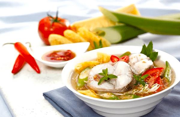 Cách Nấu Canh Chua Cá Lóc cà chua ngon đơn giản