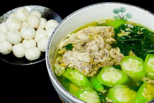 Cách nấu canh rau đay với cua đồng ngon không bị nhớt