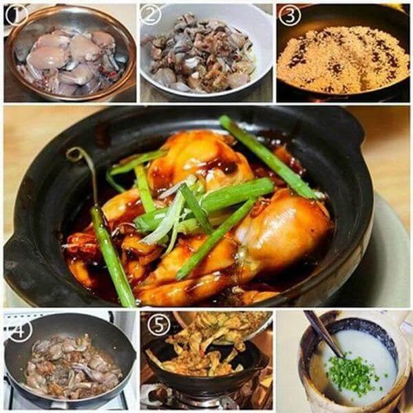 Cach nau chao ech singapore chứa đựng hàm lượng chất dinh dưỡng cao