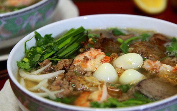 Hoàn thành - Cách nấu hủ tiếu nam vang Campuchia cực ngon
