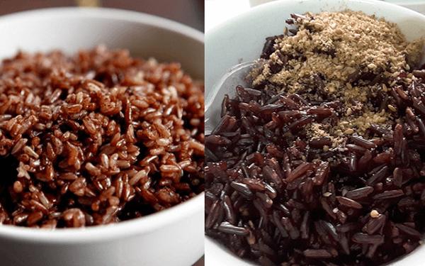 Cách nấu gạo huyết rồng và gạo lứt có gì khác nhau?