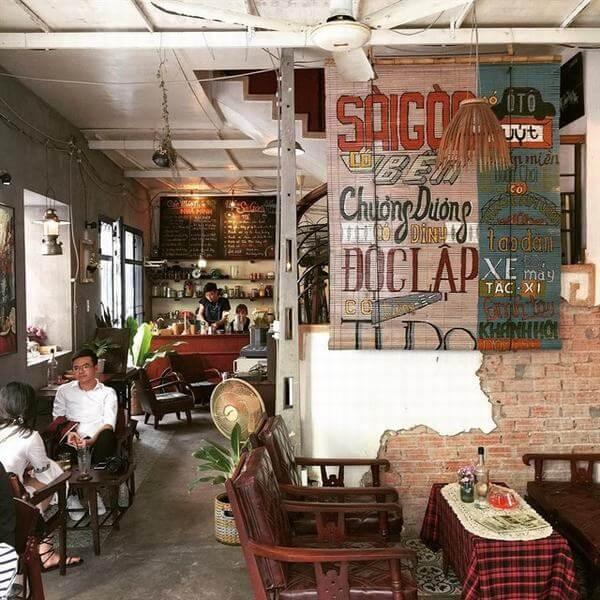 Quán cà phê Sài Gòn 80s