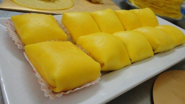 Công thức vàcách làm bánh Crepe sầu riêng kem lạnh thơm ngon tại nhà