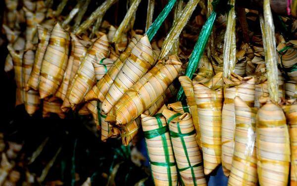 Bánh Lá Dừa -Mon ngon mien Tay song nuoc