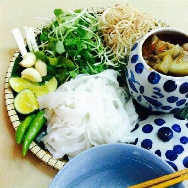 Quán mì Quảng Hương Quê tại Phan Thanh